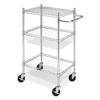 Commerical 3 Tier Basket Cart