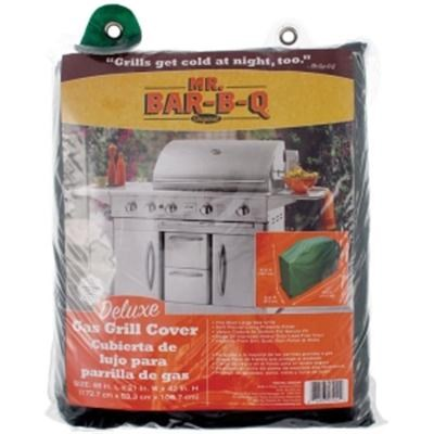 Deluxe Large 68` Gas Grill Cover in Green - 07002XEF