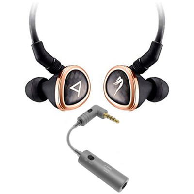 Special Edition Rosie Headphones by JH Audio - Black w/ iFi Audio iEMATCH