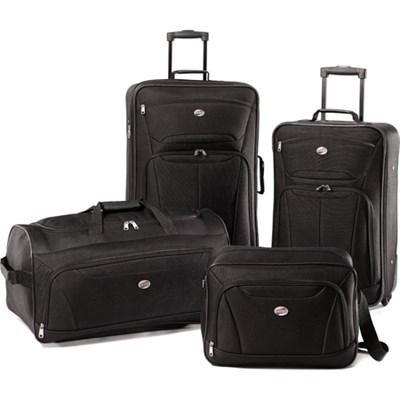 Fieldbrook II Four-Piece Luggage Set (Black) 56444-1041 - OPEN BOX