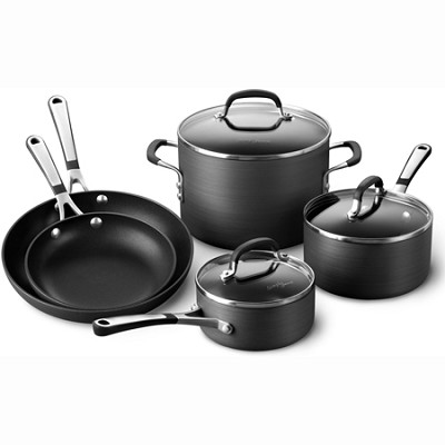 Simply Calphalon Nonstick 8 Piece Set - SA8H
