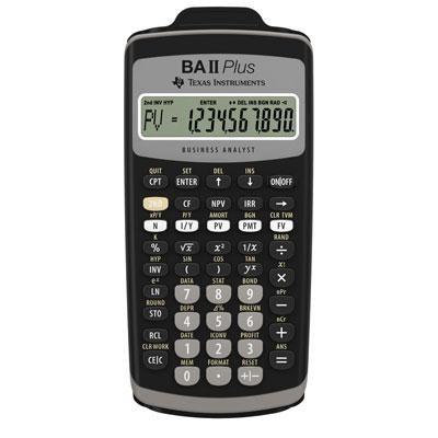 Plus Financial Calculator with Slide Case - BA-II-PLUS