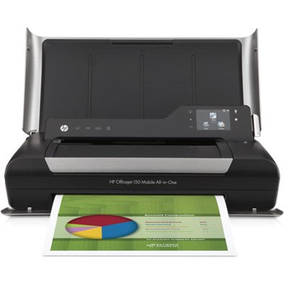 Officejet 150 Mobile All-in-One Printer- OPEN BOX NO INK