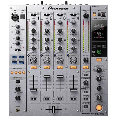 Multi Channel DJ Mixer - Silver - DJM-850-S