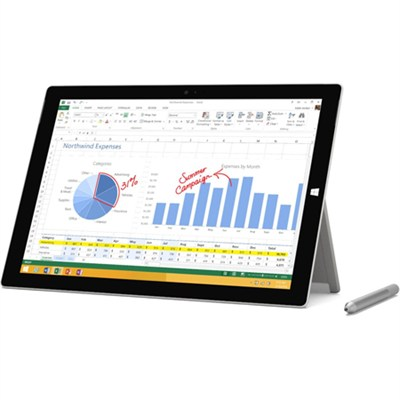 Surface Pro 3 intel Core i5-4300U 256GB 12 Inch Tablet Computer - OPEN BOX