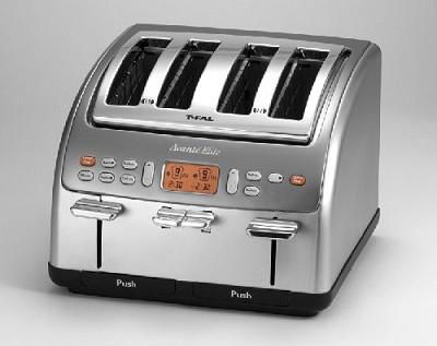 Avante Elite Electronic 4 Slice Toaster - Sandblast Metal -TT8460
