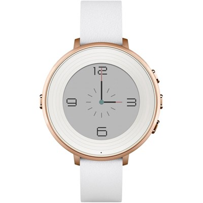 Time Round 14mm Smart Watch for iPhone/Android Devices - Rose Gold - OPEN BOX