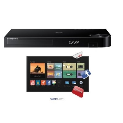 BD-H5900 - Smart 3D Blu-ray Player with Wifi and HD Upconversion