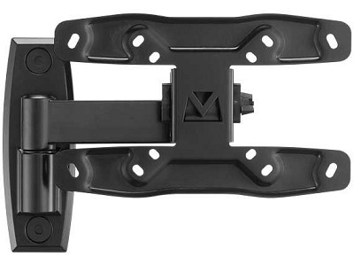 SF208 - Full Motion Wall Mount for screens up to 27` - (Extends 8` from wall)