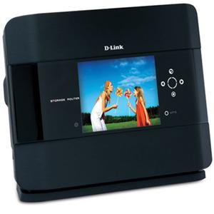 DIR-685 Xtreme N Storage Router & Photo Frame, 2.5` Drive Bay, 3.2` LCD, Draft N
