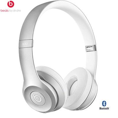 Solo2 Wireless On-Ear Headphone, Silver - (Certified Refurbished)