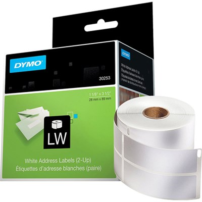 LW Mailing Address Labels for Label Printers - 30253