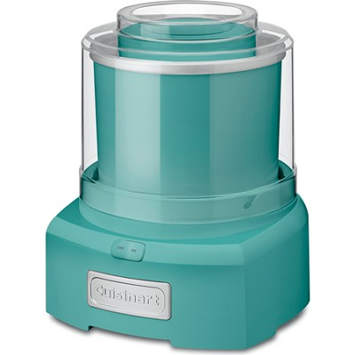 ICE-21TQ Frozen Yogurt-Ice Cream & Sorbet Maker, Turquoise - Factory Refurbished