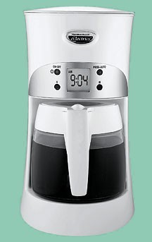 Eclectrics Coffeemaker - 4011 Sugar White