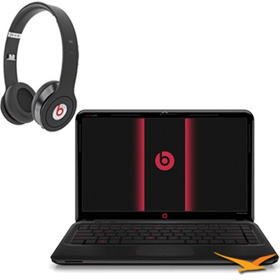 14.0`dm4-3170se Beats Notebook PC-Intel Core i5-3210M / Beats Headphones Bundle