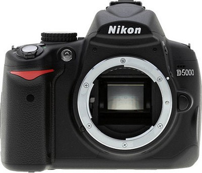 D5000 DX-Format Digital SLR Body - REFURBISHED