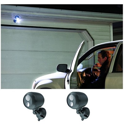MB360 Wireless LED Spotlight with Motion Sensor 2 Pack