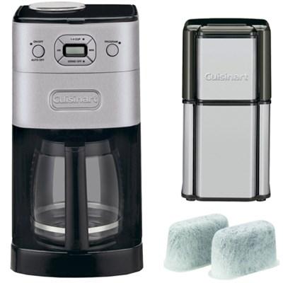 Grind & Brew 12-Cup Refurb Automatic Coffee Maker w/ Refurbished Bundle