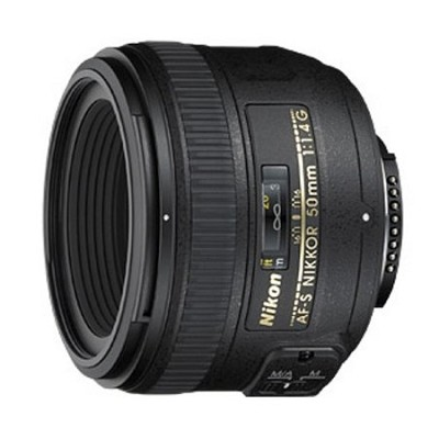 AF-S NIKKOR 50mm f/1.4G Lens