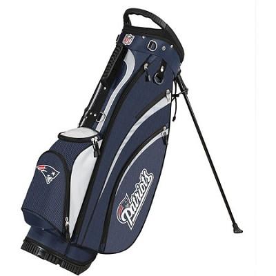NFL New England Patriots Golf Carry Bag