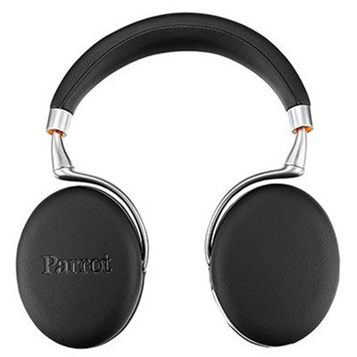 Zik 3 Wireless Bluetooth Headphones w/ Wireless Charger (Black Leather-Grain)