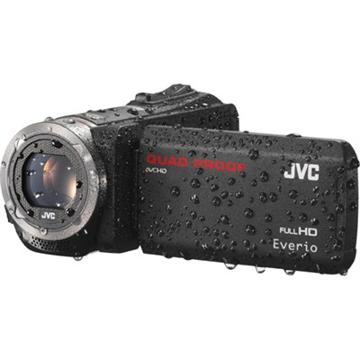 GZ-R320DUS Quad Proof Black 40x Dynamic Zoom 60x Digital Zoom HD Camcorder