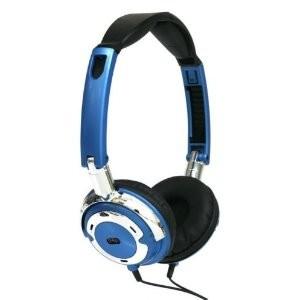 Popmetal DJ Style Headphones (Blue)