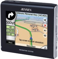 3.5` Touch Screen Portable Navigation