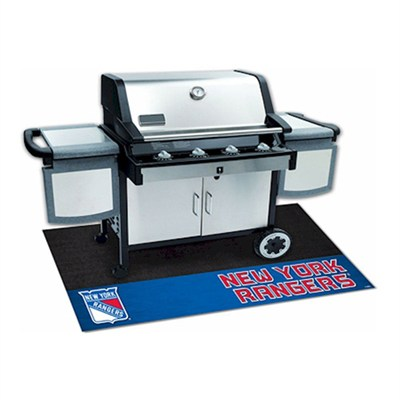 NHL - New York Rangers Vinyl Heavy Duty Grill Mat