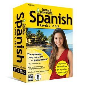 Spanish Levels 1 2 & 3 (V2) Win/Mac - OPEN BOX