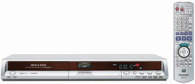 DMR-EH55S Progressive DVD Recorder w/ 200GB Hard Drive, REFURBISHED