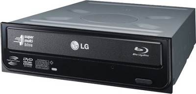 UH08LS10 LightScribe 8x SATA Blu-ray Combo Internal Drive