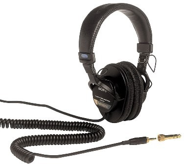 MDR-7506 Professional Headphones - OPEN BOX