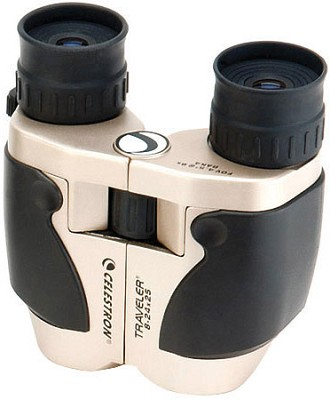 8-24x25 Traveler Zoom Weather Resistant Porro Prism Binocular