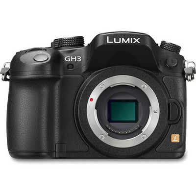 LUMIX GH3 16MP Digital Single Lens Mirrorless Camera Body with 1080p HD Video