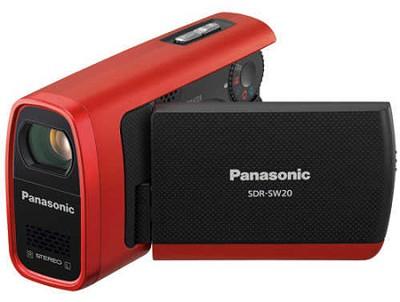 SDR-SW20R Shock & Dustproof SD Camcorder w 10x Optical Zoom - REFURBISHED
