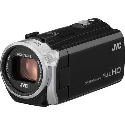 GZ-E505BUS - HD Everio Camcorder 38x Zoom f1.8 (Black)