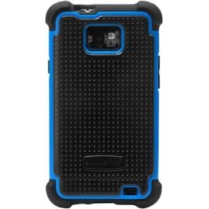 Samsung Galaxy S II Ballistic Shell Gel (SG) Series Case - Black/Blue