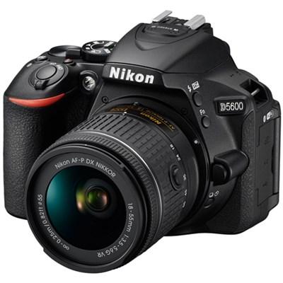 Refurbished D5600 24.2MP Digital SLR Camera w/AF-P 18-55mm f/3.5-5.6G VR