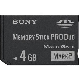 4 GB Memory Stick PRO Duo (Mark2)