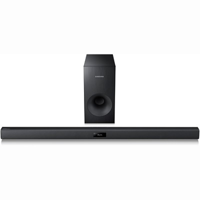 HW-F355 - Wireless Sound Bar System with Wired Subwoofer