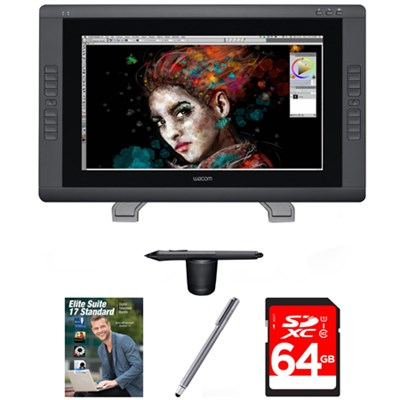 Cintiq 22HD Touch Pen Display with Corel Suite 17 Bundle