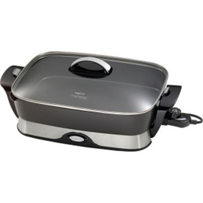 16-inch Electric Foldaway Skillet in Black - 06857
