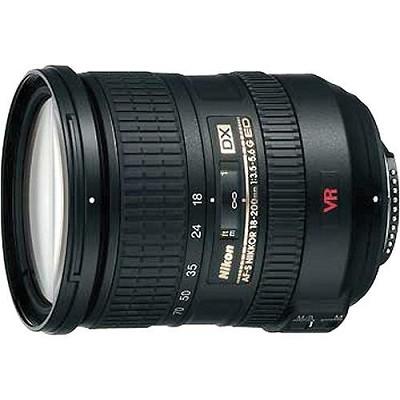 18-200MM F/3-5.6G ED-IF AF-S DX VR Zoom-Nikkor Lens