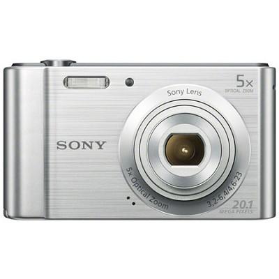 DSC-W800 Point and Shoot Digital Still Camera - Silver