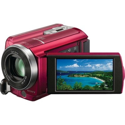 DCR-SR68 80GB Handycam Camcorder (Red)