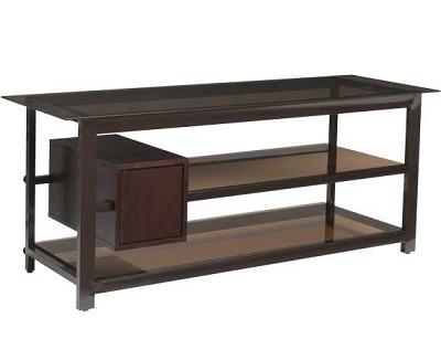 BFV157 - Tempered-glass shelves A/V Stand for TVs up to 60`