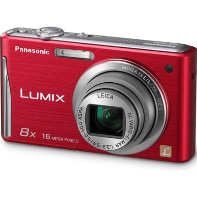 Lumix DMC-FH25 16MP 8x Zoom Red Compact Digital Camera
