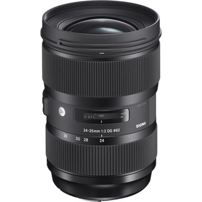24-35mm F2 DG HSM Standard-Zoom ART Lens for Canon SLR EF Cameras