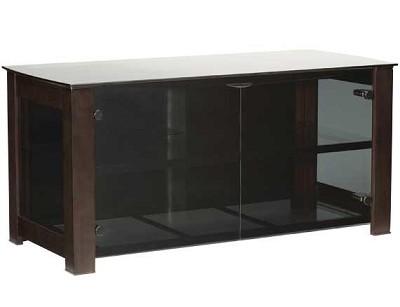 DFV50 - Designer Series 3 Shelf A/V Cabinet for TVs up to 55` (Chocolate)